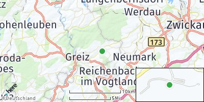Google Map of Mohlsdorf