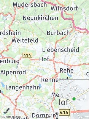Here Map of Hof