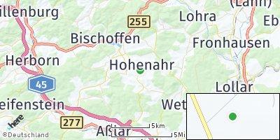 Google Map of Hohenahr