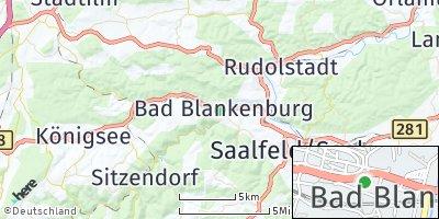 Google Map of Bad Blankenburg