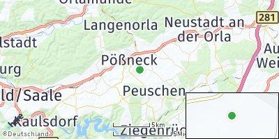 Google Map of Bodelwitz