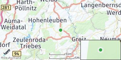 Google Map of Langenwetzendorf