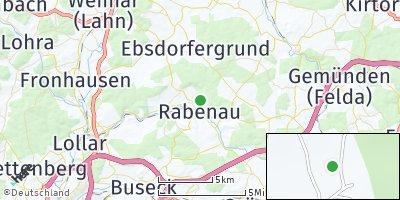 Google Map of Rabenau