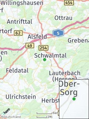 Here Map of Schwalmtal