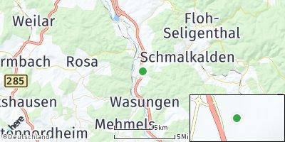 Google Map of Schwallungen