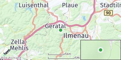 Google Map of Elgersburg