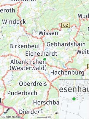 Here Map of Giesenhausen