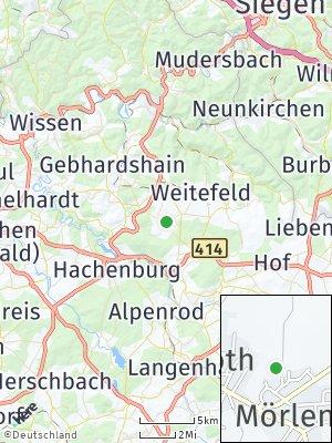 Here Map of Mörlen