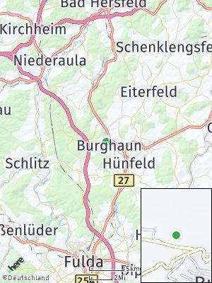 Here Map of Burghaun