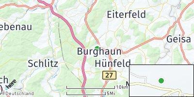 Google Map of Burghaun