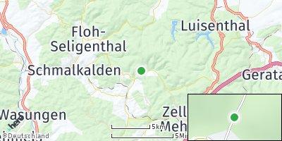 Google Map of Unterschönau