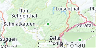Google Map of Oberschönau
