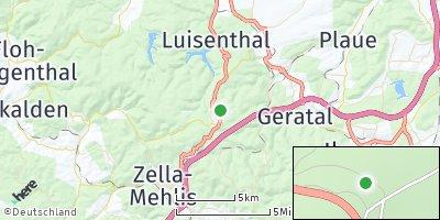 Google Map of Oberhof