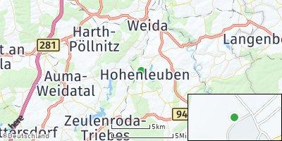 Google Map of Hohenleuben
