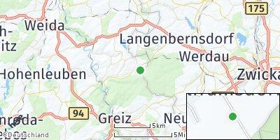 Google Map of Teichwolframsdorf