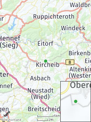 Here Map of Kircheib