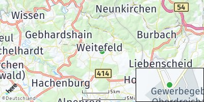 Google Map of Weitefeld
