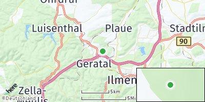 Google Map of Geraberg