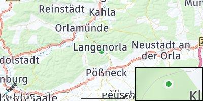 Google Map of Langenorla