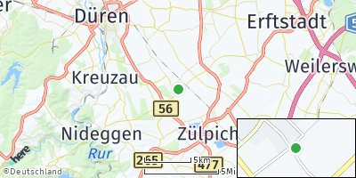 Google Map of Vettweiß