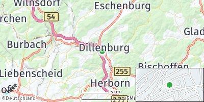 Google Map of Dillenburg