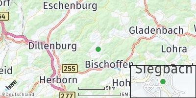 Google Map of Siegbach