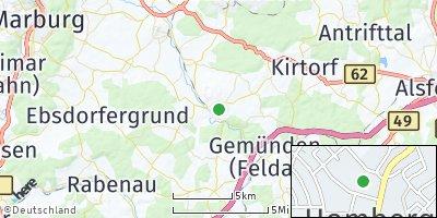 Google Map of Homberg