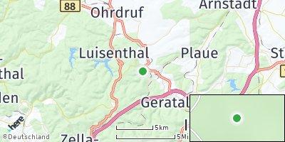 Google Map of Frankenhain