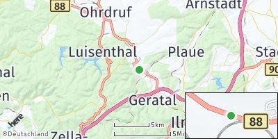 Google Map of Gräfenroda