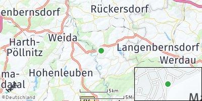 Google Map of Berga / Elster