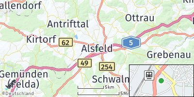 Google Map of Alsfeld