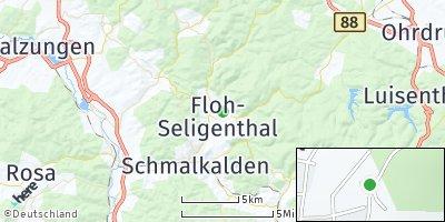 Google Map of Floh-Seligenthal