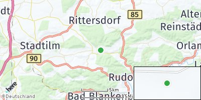 Google Map of Remda-Teichel