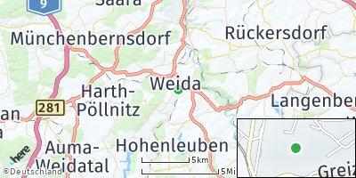 Google Map of Weida