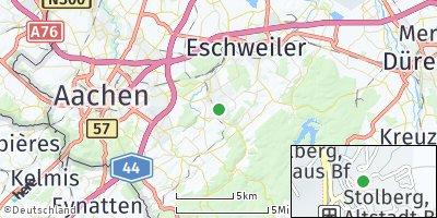 Google Map of Stolberg