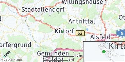 Google Map of Kirtorf