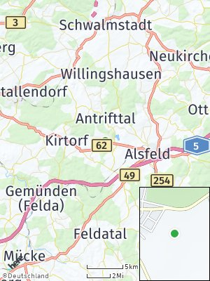 Here Map of Antrifttal