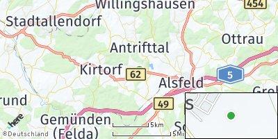 Google Map of Antrifttal