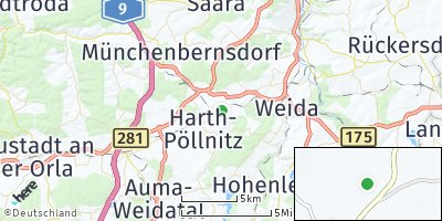 Google Map of Harth-Pöllnitz