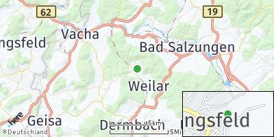 Google Map of Stadtlengsfeld