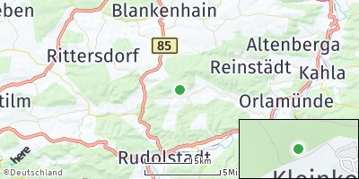 Google Map of Großkochberg