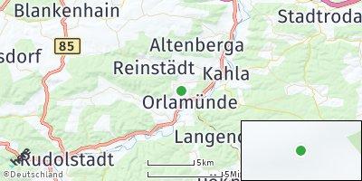 Google Map of Orlamünde