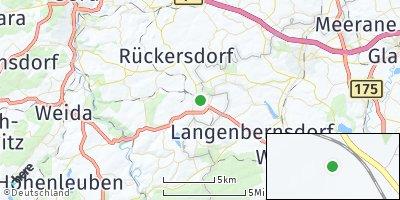 Google Map of Seelingstädt bei Gera