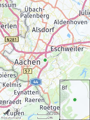 Here Map of Eilendorf