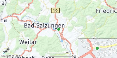 Google Map of Barchfeld