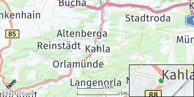 Google Map of Kahla