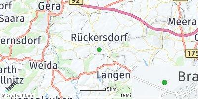 Google Map of Braunichswalde