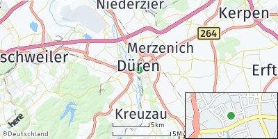 Google Map of Düren