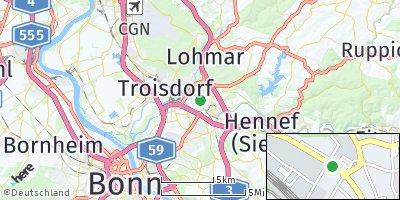 Google Map of Siegburg