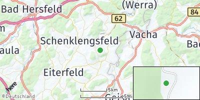 Google Map of Hohenroda